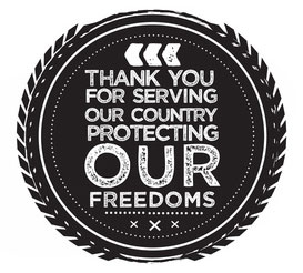 thank you veterans first responders